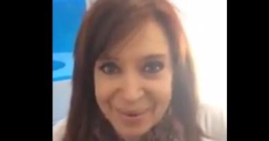 saludo CFK