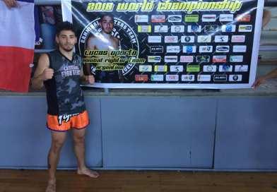 Lucas Oporto Campeon Mundial de Kick Boxing