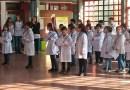 Estudiantes de cuarto año prometieron fidelidad a la Bandera