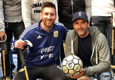 Messi y la Selección con Cambiaso en Cañuelas. Mirá los videos