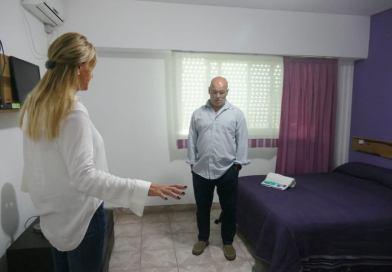 Fassi recorrió SMATA: el predio podría alojar a más de 1000 pacientes