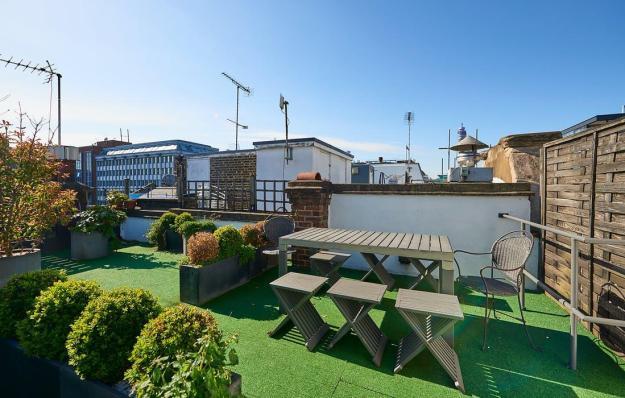 soho roof garden on wardour