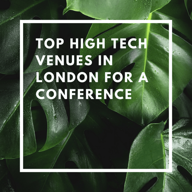 top high tech venues in london for a conference