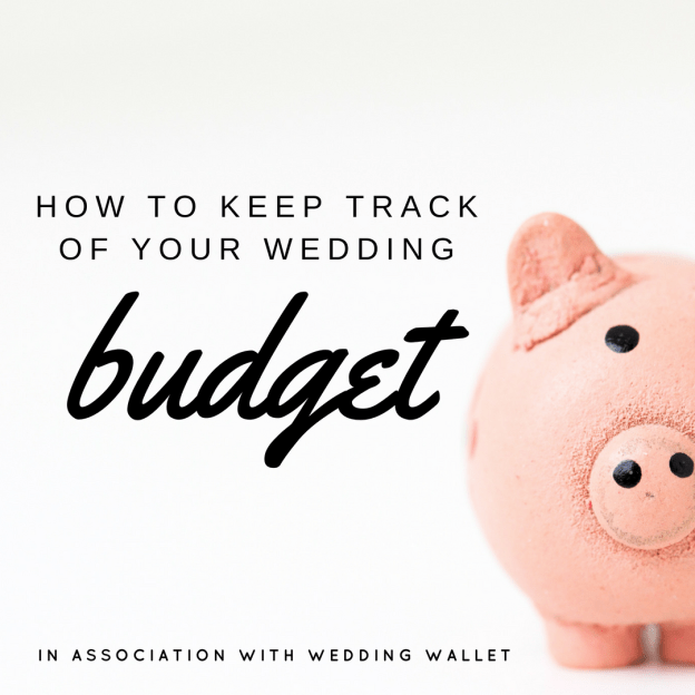 tracking wedding budget IG