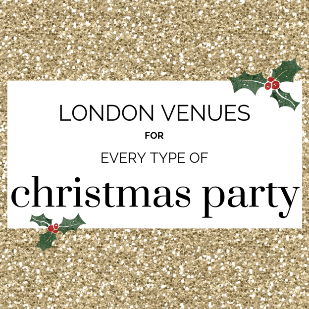 london venues for every type of christmas party