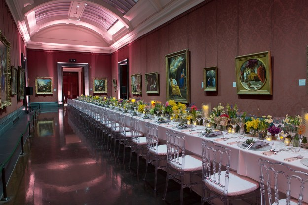 national gallery private dining event