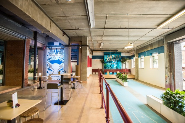 london shuffle club modern venue