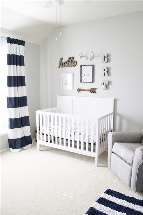 12 Cute As Pie Baby Boy Nursery Decorating Ideas   Canvas Factory Baby Boy Nursery Decorating Ideas   Neutral