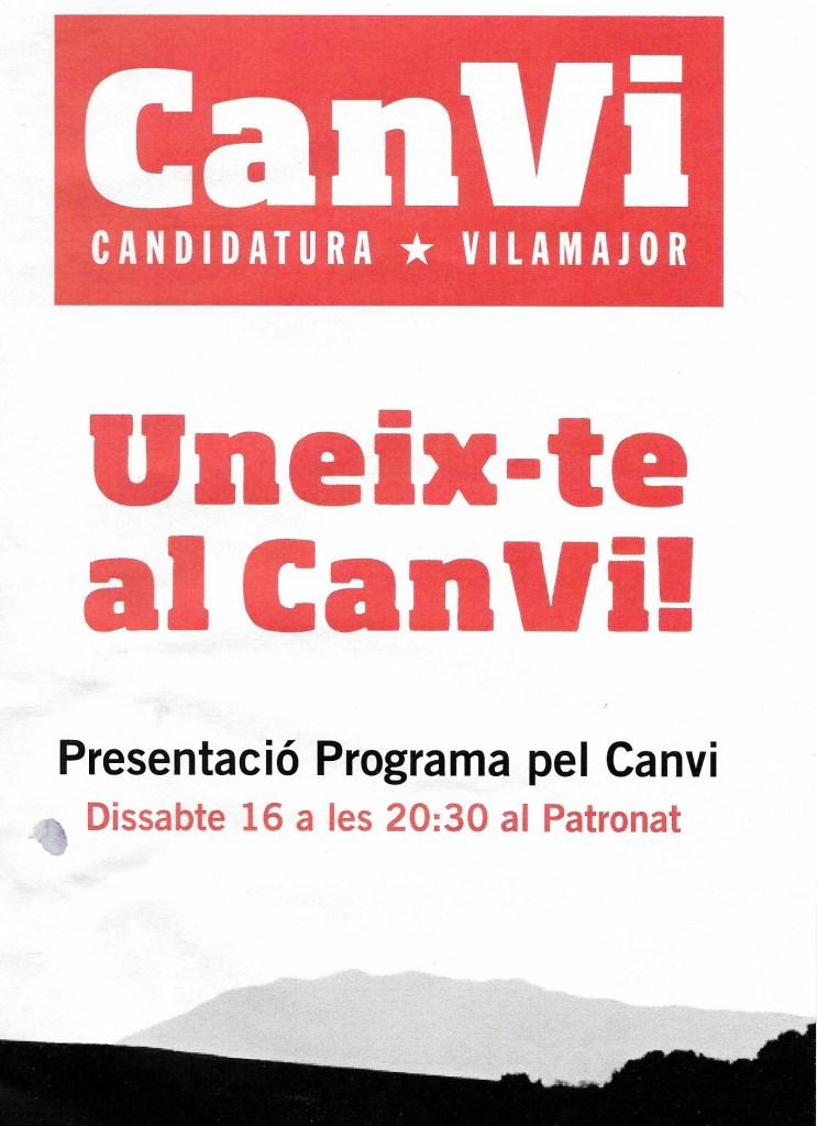 Presentació Programa