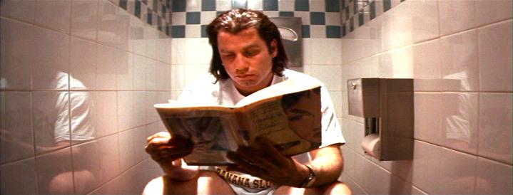 Vincent Vega Reading