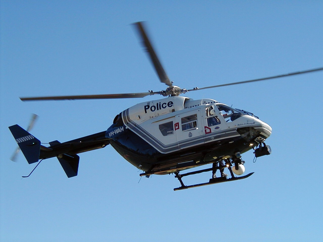 Helicopter K9 Aid In Suspect Arrest