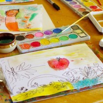 Exploring Colour and Texture with Watercolours