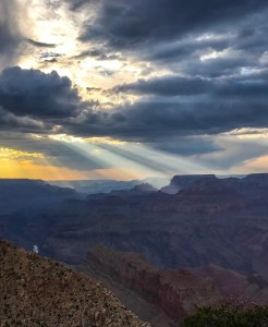 Sunset Rays over Grand Canyon - Nate Loper