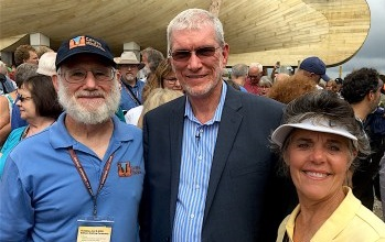 Tom and Paula Vail with Ken Ham