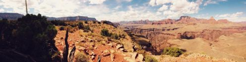 Panoramic view of inner canyon from Horseshoe Mesa