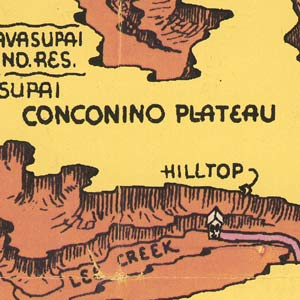 I love the lettering on this old map — misspelled toponyms not withstanding.