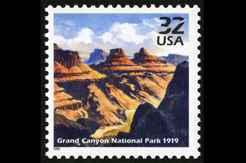 1998-grand-canyon-celebrate-the-century-stamp