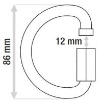 CAMP D-vormige Snelschakel (Quick Link) (10mm)
