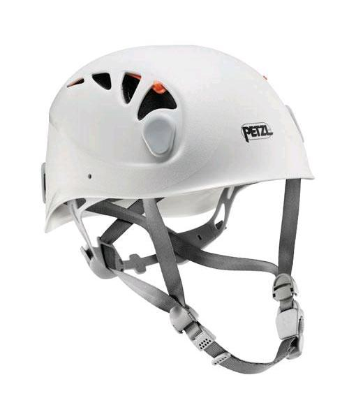 Petzl Elios - White with orange shutters