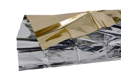 Gold Silver Emergency Blanket