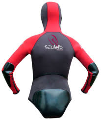 Veste neoprène Seland MULHACEN (rouge/noir)