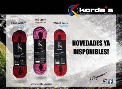 Kordas Fina 8.5 Barrancos (Canyoning)/Kordas Iris 9mm SUMMUM System