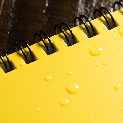 R558100 Rite in the Rain All-Weather Notebook (small) - 12,5 x 7,5 cm, 54 g