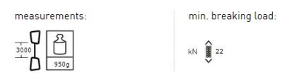 AustriAlpin CORE. DY Rap Ligne 30m