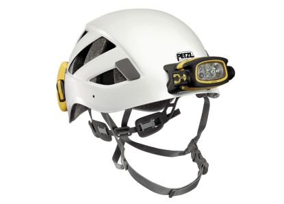 Petzl DUO Z2 shown on BOREO CAVING helmet