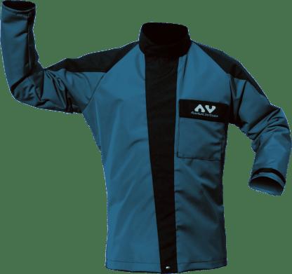 AV protective jacket TAKA (AVCA38) Front, blue