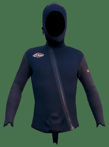 Seland ESCALO - black/grey - jacket front