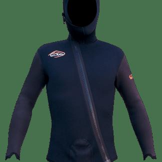 Seland ESCALO - schwarz/grau - Jackenfront