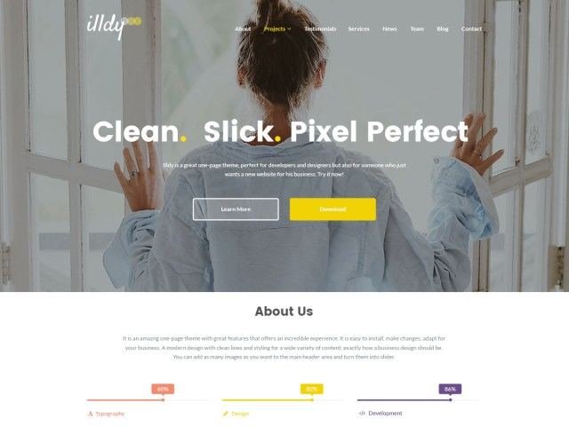 Illdy blog theme
