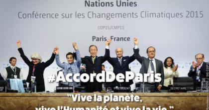 L'Accordo di Parigi sul clima