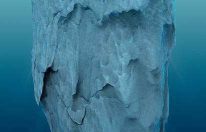 L'iceberg rovesciato