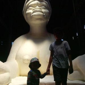 Kara Walker - Sphinx - Domino Sugar Factory NYC Photo by Kelli Rae