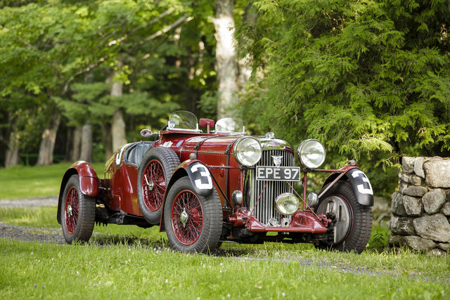 Lagonda LG45R Sets New Record