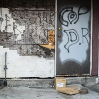 Graffiti: Blairmore, Alberta
