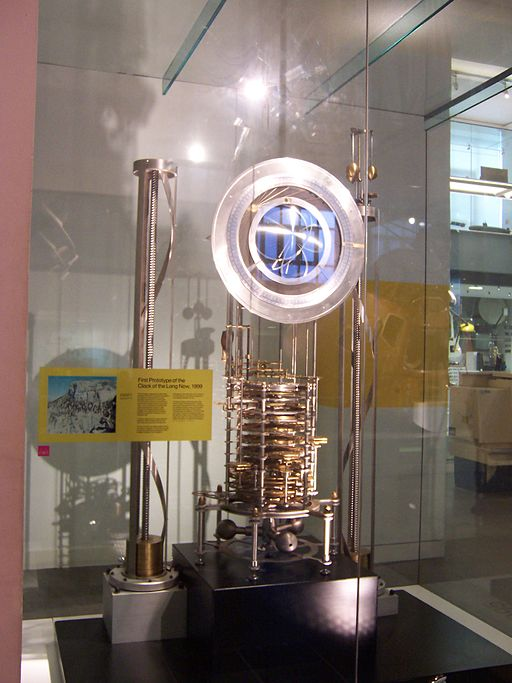 Clock of the Long Now Prototype, Science Museum, London. Photo
