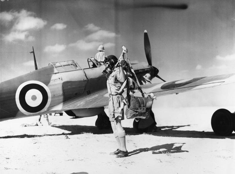 """Woody"""" Vernon Crompton Woodward, DFC and Bar RAF 