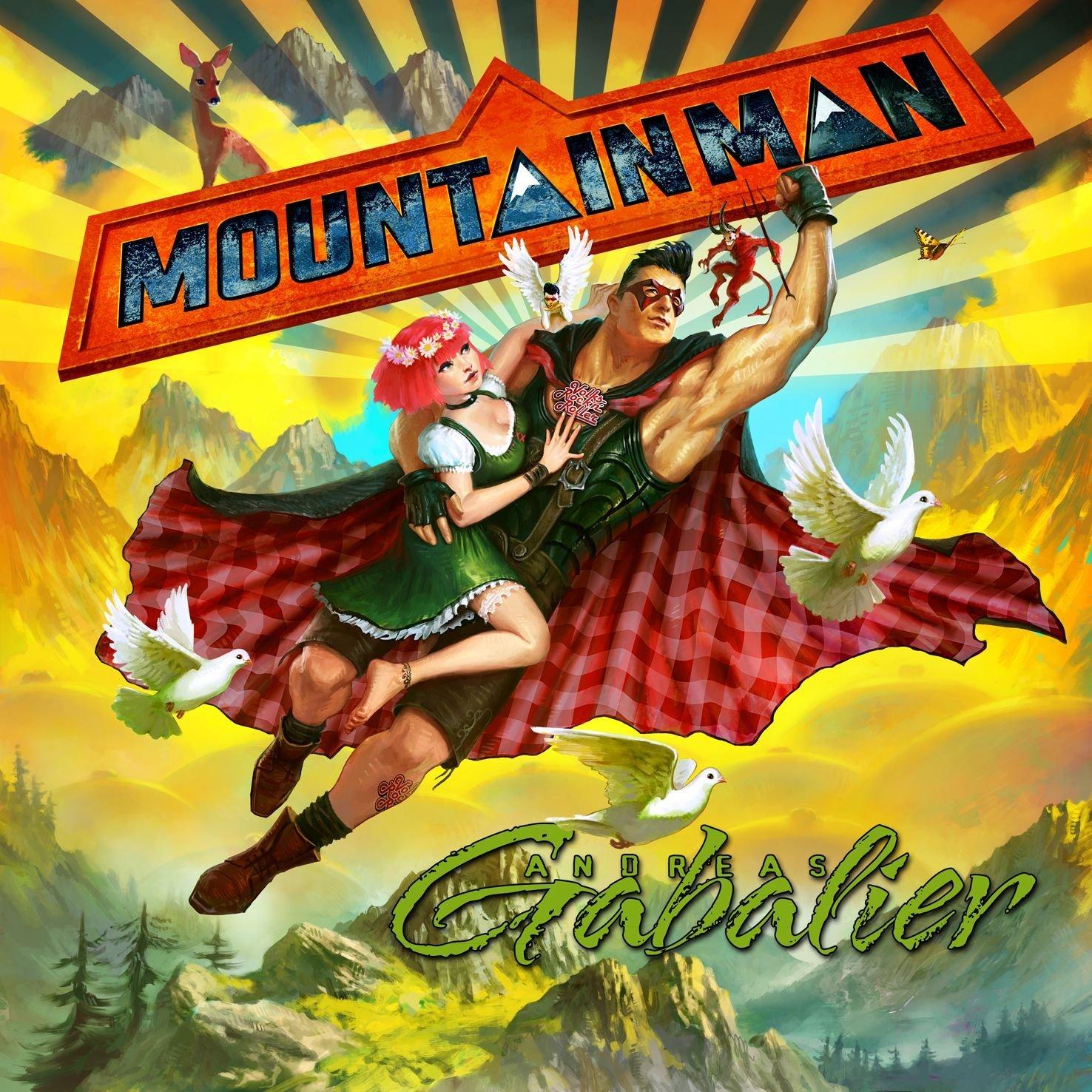 Mountain Man - The New Album from Andreas Gabalier Album Cover
