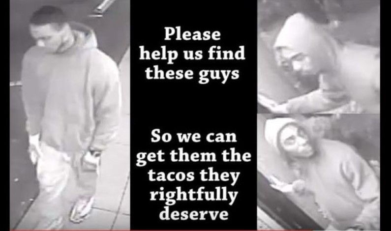 We know they like tacos.
