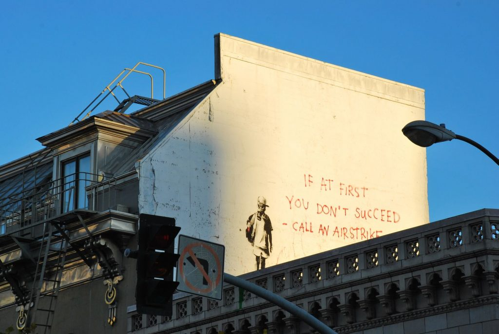 San Francisco - Banksy