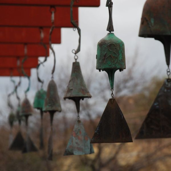 Cloches en bronze fabriquées sur place