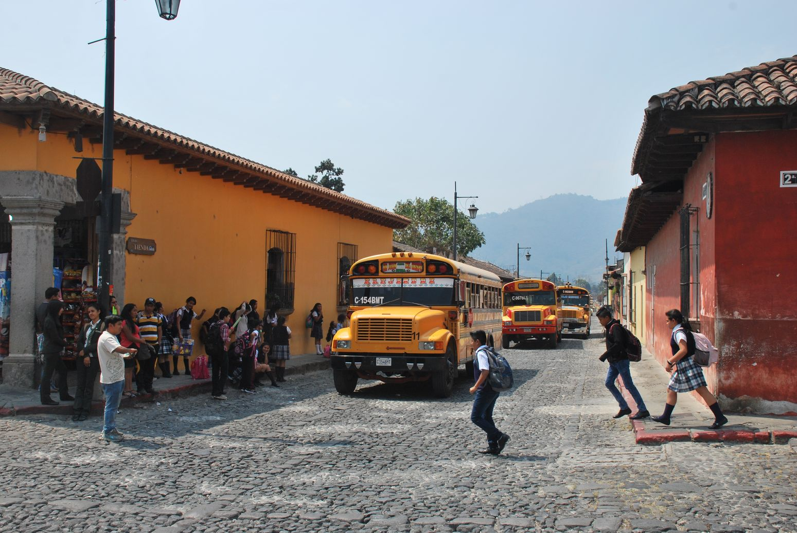Antigua Guatemala bus