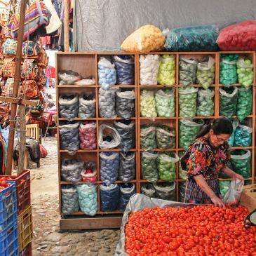 Les marchés guatémaltèques et la culture locale