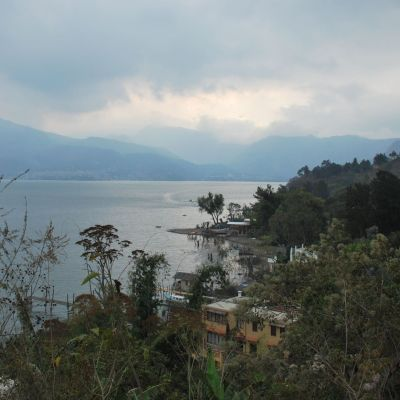 Lake Atitlan overview
