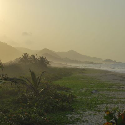 Tayrona-Colombia Sunset