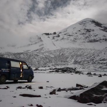 J263 à 266 : La sierra Équatorienne