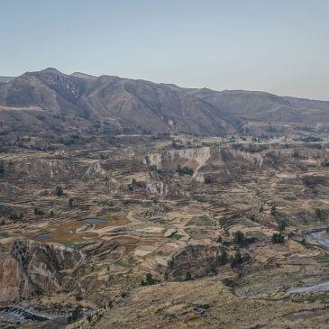 J 299 à J 303 : Du Canyon del Colca aux tours funéraires pré-Incas